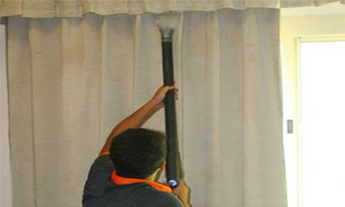 Reiniging gordijnen op locatie - laat uw gordijnen gewoon hangen ...